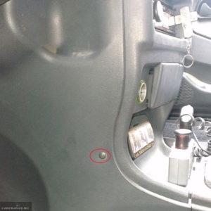 Демонтаж боковой накладки передней панели на ВАЗ-2114