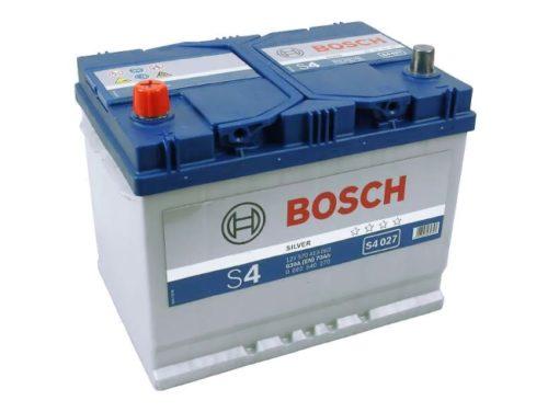 Автомобильный аккумулятор Bosch S4 027 Silver 70Ah для ВАЗ-2114