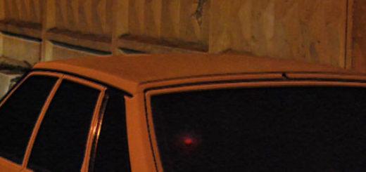 ВАЗ-2114 на дальнем свете фар