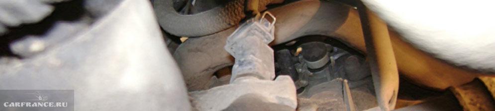 Расположение датчика скорости под капотом ВАЗ-2114