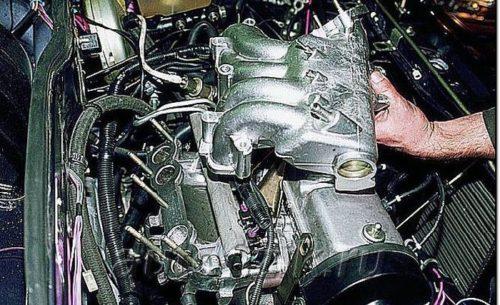 Демонтаж ресивера на ВАЗ-2114