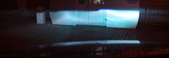 Хороший и яркий свет фар не слепящий водителей на ВАЗ-2114