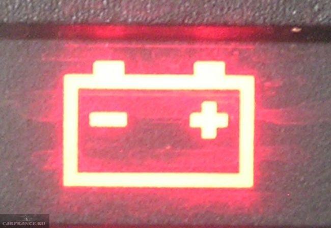 Сигнальная лампа аккумуляторной батареи на ВАЗ-2114