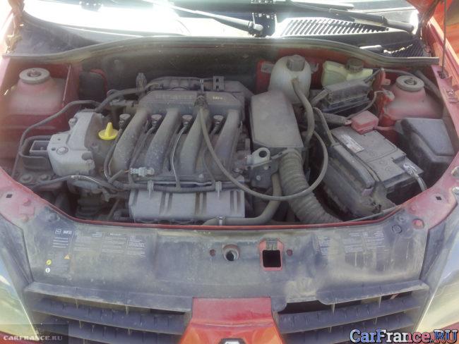 Мотор Рено Симбол 16 клапанов 1,4 объём