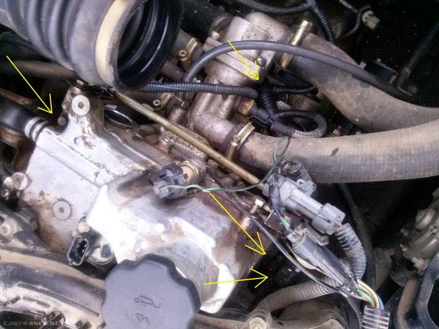 Выдавливание моторного масла через сапуны на двигателе Лада Приора