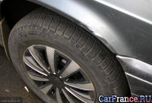 Подвеска переднего колеса на ВАЗ-2114
