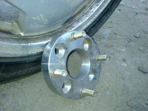 Колесные проставки на ВАЗ-2114