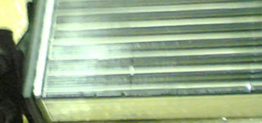 Радиатор печки на Рено Симбол Magneti Marelli