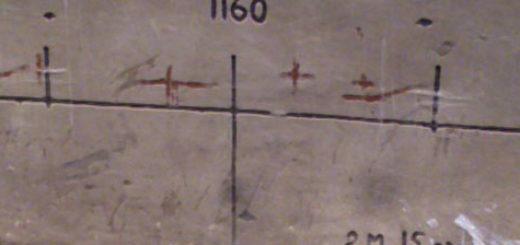 Разметка для правильной регулировки фары на ВАЗ-2114
