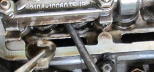 Регулировка клапанов на 8-ми клапанном двигателе ВАЗ-2114