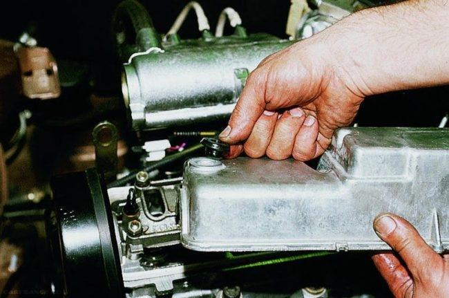 Процесс проверки и регулировки клапанов ВАЗ-2110