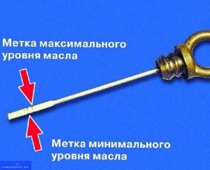 Щуп проверки масла в КПП ВАЗ-2114
