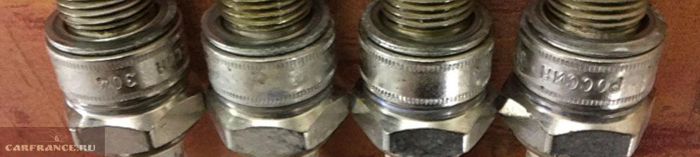 Свечи зажигания на 8-ми клапанную ВАЗ-2114
