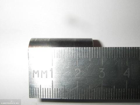 Замер длины втулки рычага КПП на ВАЗ-2114