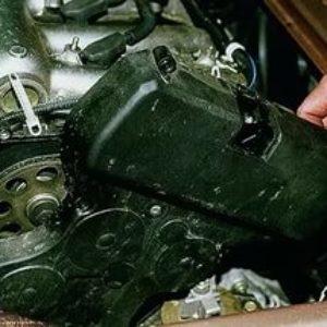 Демонтаж крышки ГРМ ВАЗ-2170