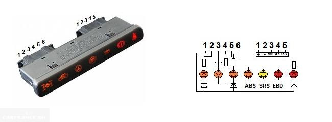 Распайка блока индикации бортового компьютера Нивы Шевроле