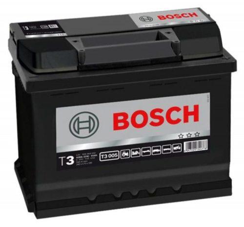 Автомобильная аккумуляторная батарея BOSCH T3 55А/ч для Нива Шевроле