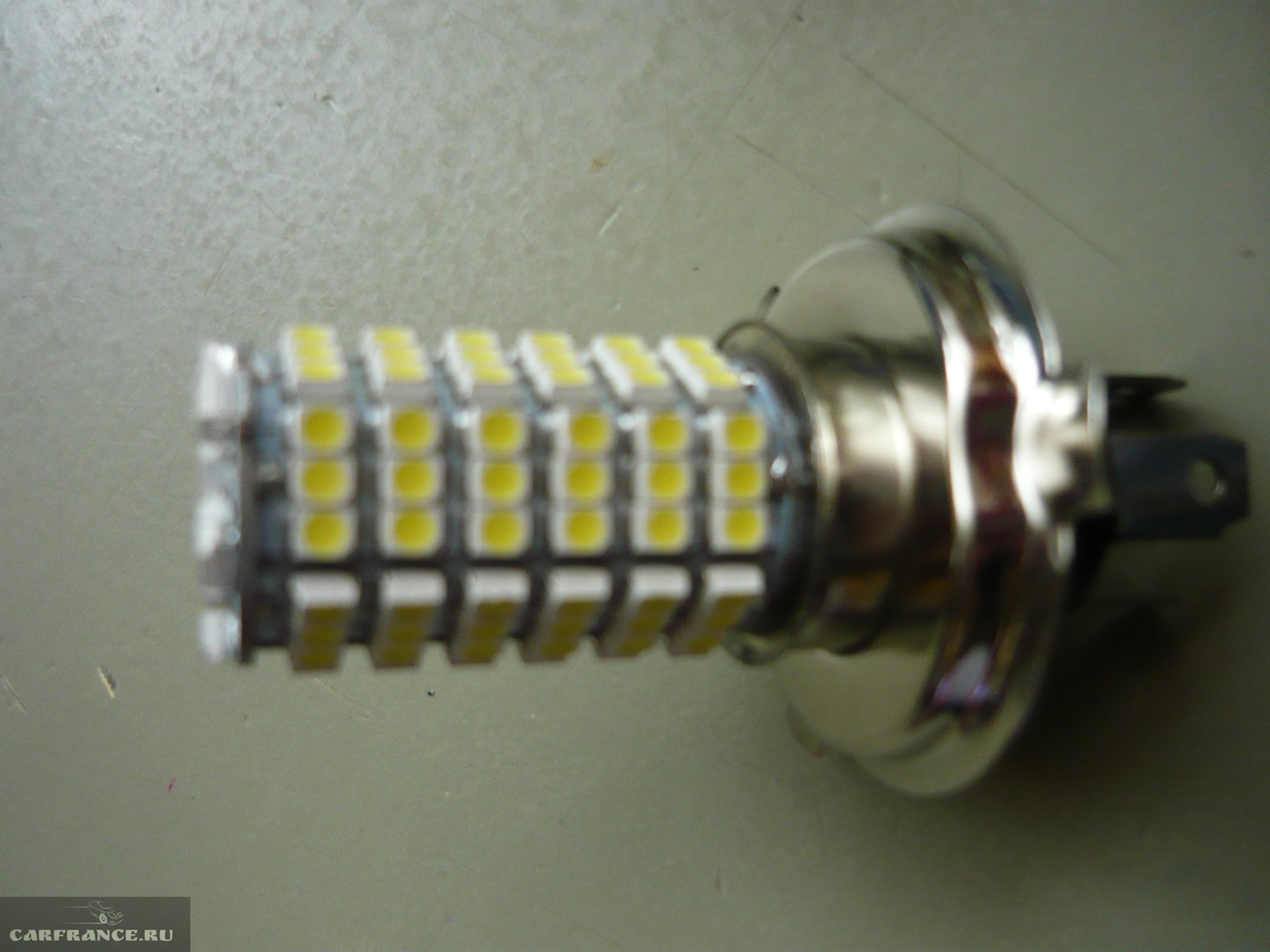 инструкция по замене ламп ближнего света peugeot 207