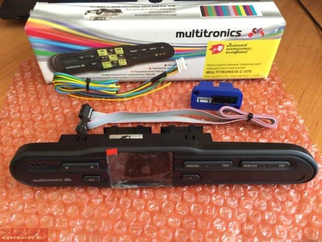 Новый бортовой компьютер Multitronics C-570 с коробкой и инструкцией