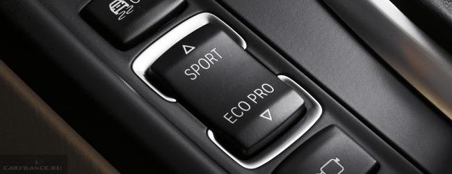 Селектор режимов ECO Sport, BMW 3
