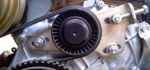 Регулировочный узел ремня генератора ВАЗ 2123