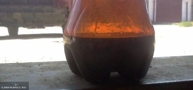 Ёмкость под датчик для слива трансмиссионного масла ВАЗ-2114