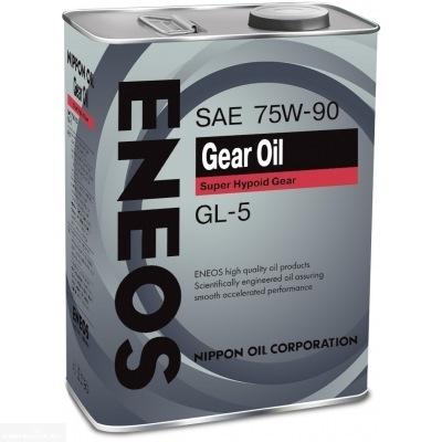 Трансмиссионное масло ENEOS 75W90 GEAR GL-5