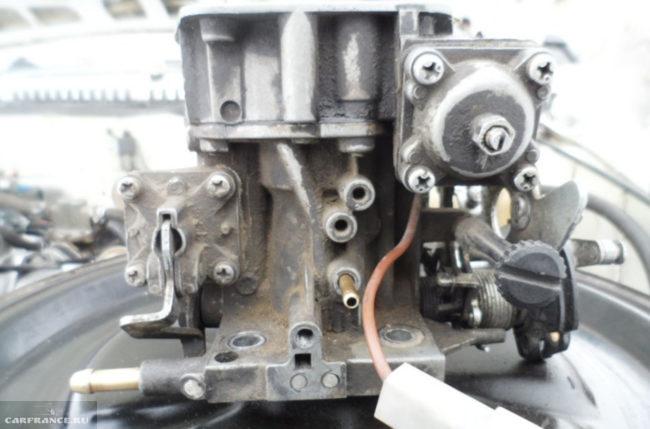 Карбюратор грязный на ВАЗ-2109