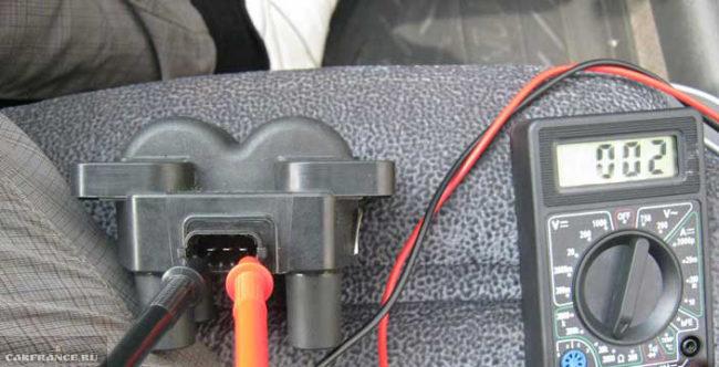 Проверка модуля зажигания тестером