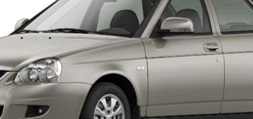 Внешний вид автомобиля Лада Приора