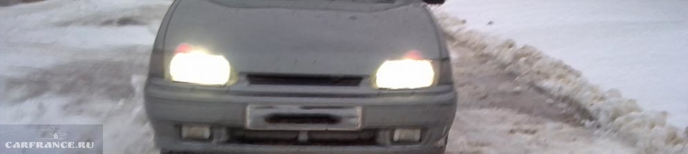 Лампа ближнего света Нарва H4 на ВАЗ-2114