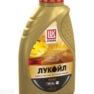 Масло моторное Лукойл Люкс 5W-40 синтетика 1л для Нива Шевроле