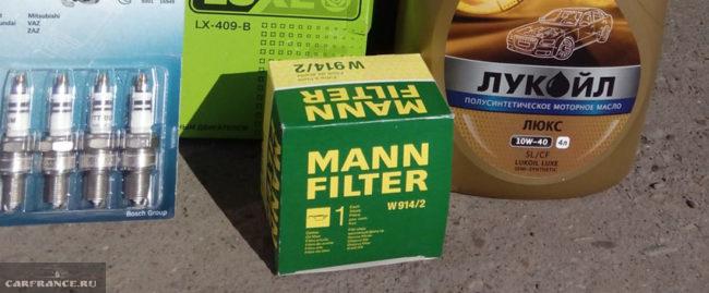 Масляный фильтр и моторное масло Шевроле Нива