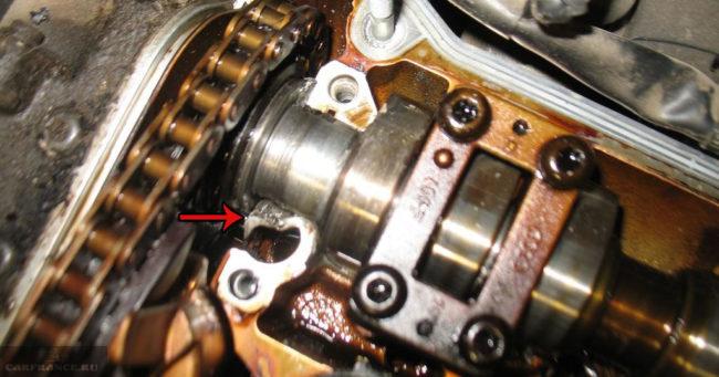 Алюминиевый корпус детали в двигателе расплавился масляное голодание