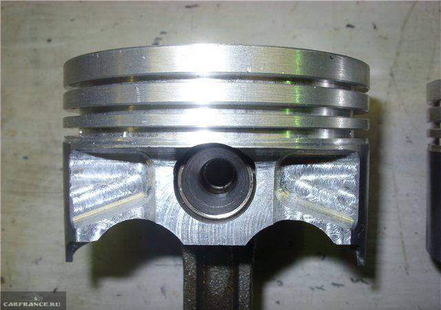 Новый облегчённый поршень в двигатель Шевроле Нива