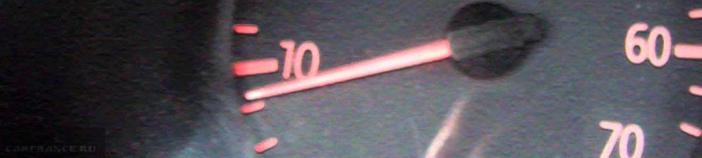 Плавающие обороты на тахометре Рено Логан