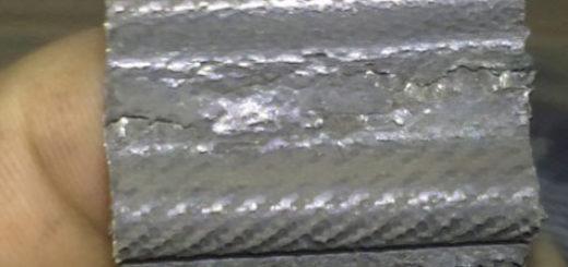 Следы износа и порепины на ремне ГРМ Лада Приора