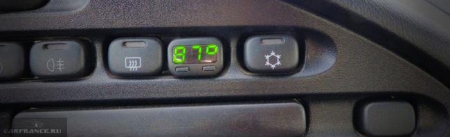 Температура двигателя и открытия термостата на большой круг на Шевроле Нива