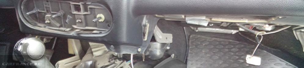 Замена печки нива шевроле с кондиционером