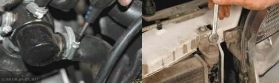Демонтаж воздушного фильтра на Нива Шевроле