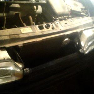 Передок ВАЗ-2114 решётка радиатора снятая