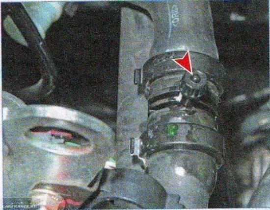 Штуцер сброса воздуха Пежо 307