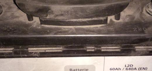 Родной аккумулятор на Пежо 308