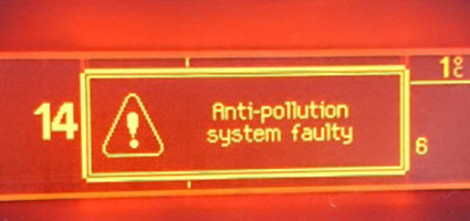 Ошибка Antipollution system faulty Пежо 308