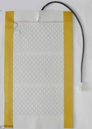 Нагревательный элемент извлечённый из сидения Нива Шевроле