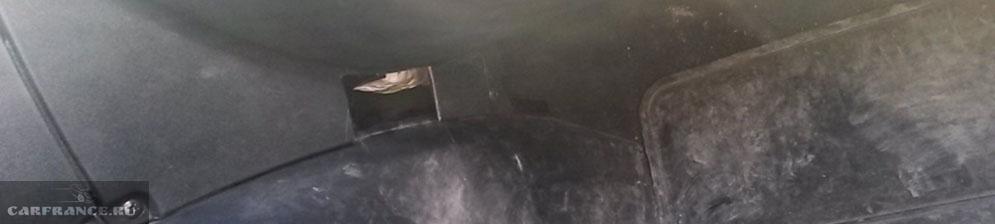 Положение ног и печка в Нива Шевроле