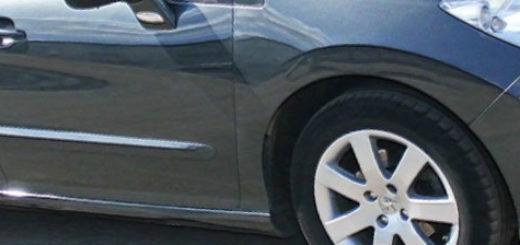 Пежо 308 2008 года вид сбоку