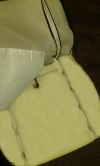 Проверка нагревательного элемента подогрева сидения на Шевроле Нива