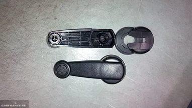 Ручка стеклоподъёмника ВАЗ-2114 вблизи