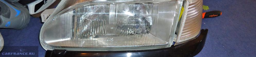 Замена стекла фары на ВАЗ-2114